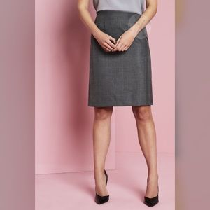 Les Copains Blue Pencil Skirt